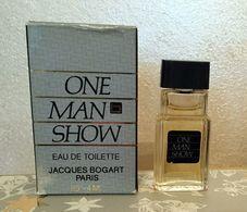 """Miniature """"One Man Show """" De JACQUES BOGART  EDT Pour Homme  4 Ml Dans Sa Boite - Modern Miniaturen (vanaf 1961)"""