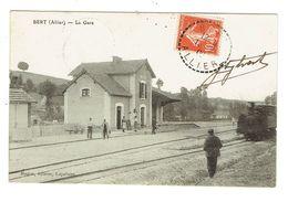ALLIER 03 BERT La Gare Belle Carte - France
