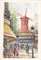 PARIS - Le Moulin Rouge - Edition Art Pictural En 1973 - Other Monuments