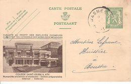 Publibel 189 Oblitération Wasmes - Stamped Stationery
