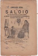 PORTUGAL LISBOA - TEATRO THEATRE - CONFISSÃO GERAL DO SALOIO - Libri, Riviste, Fumetti
