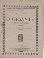 PORTUGAL LISBOA - TEATRO THEATRE - O GIGANTE - Libri, Riviste, Fumetti