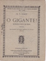 PORTUGAL LISBOA - TEATRO THEATRE - O GIGANTE - Books, Magazines, Comics