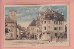 OUDE POSTKAART ZWITSERLAND  -  SCHWEIZ - SUISSE -    PAYERNE - GRANDE RUE  1923 - VD Vaud