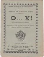 PORTUGAL LISBOA - TEATRO THEATRE - O...X ! - Livres, BD, Revues