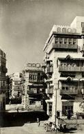 Saudi Arabia, DJEDDAH JEDDAH, Street Scene With Typical Houses (1950s) RPPC - Saudi Arabia