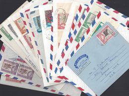 COLONIES ANGLAISES - Petit Lot De 19 Pièces - Iles Vierges Et Grenade - 16 Enveloppes, 2 Cartes Postales, 1 Télégramme. - Non Classés