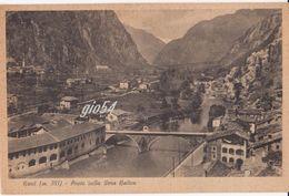 Aosta Bard Ponte Sulla Dora Stazione Ferrovia - Italia