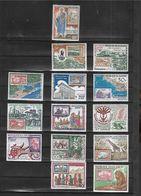 Grandes Séries Pays D'expression Française FAUNE 1969  :Exposition   à  Abidjan   N** MNH   14 Valeurs - Weltausstellung