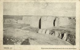 Iran Persia, SHUSH, Susa, Excavations Showing Ground Levels Of Cities (1910s) - Iran