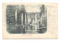 RU 190000 SANKT PETERSBURG, Palais De Peterhof, Relief-Karte - Geprägt / Embossed - Russland