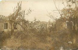 Ref W739- Guerre 1914- 18-  Photo Souple 13,5cms X 9cms - Heudricourt - Somme - Photo Bon Etat  - - Guerre, Militaire