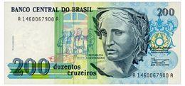 BRAZIL 200 CRUZEIROS ND(1990) Pick 229 Unc - Brazilië
