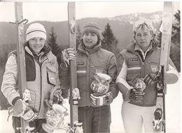 1606  SLOVENIJA  FOTO    23 X 17  CM  SKY   TEAM  1984 - Winter Sports