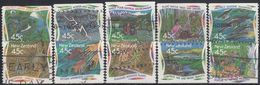 NUEVA ZELANDA 1995 Nº 1352/61 USAD0 - Used Stamps