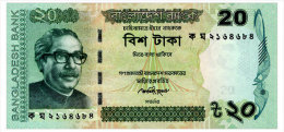 BANGLADESH 20 TAKA 2012 Pick 55b Unc - Bangladesch