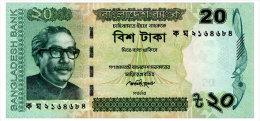 BANGLADESH 20 TAKA 2012 Pick 55b Unc - Bangladesh