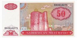 AZERBAIJAN 50 MANAT ND(1999) Pick 17b Unc - Azerbaïjan