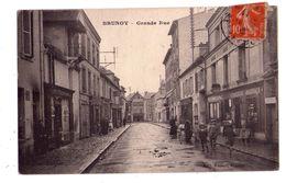 0696 - Brunoy ( S&O ) - Grande Rue - éd. Hapart à Brunoy - - Brunoy