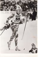 1607   LAHTI    FOTO    18 X 12  CM  WETTER AUF SKIFAHREN - Winter Sports