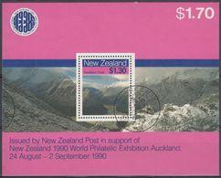 NUEVA ZELANDA 1990 Nº HB-63 USAD0 - Hojas Bloque