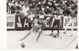 1608   LAHTI    FOTO    18 X 12  CM  WETTER AUF SKIFAHREN - Winter Sports