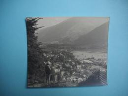 PHOTOGRAPHIE   LUCHON  -  31  -  Vue Prise En Haut Du Funiculaire   -  8,8 X 10,2 Cms - 1964 - Haute Garonne - Luchon