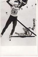 1609   LAHTI    FOTO    18 X 12  CM  WETTER AUF SKIFAHREN - Winter Sports