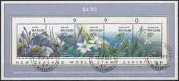 NUEVA ZELANDA 1990 Nº HB-73 USAD0 - Hojas Bloque