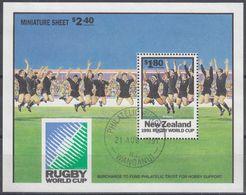 NUEVA ZELANDA 1991 Nº HB-79 USAD0 - Hojas Bloque
