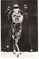 1613   OBERSTDORF    FOTO    18 X 12  CM  WETTER AUF SKIFAHREN - Winter Sports