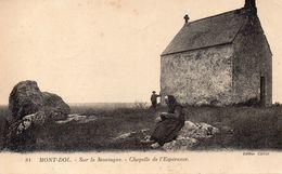CPA MONT-DOL - SUR LA MONTAGNE - CHAPELLE DE L'ESPERANCE - France