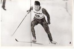 1614   OBERSTDORF    FOTO    18 X 12  CM  WETTER AUF SKIFAHREN - Winter Sports