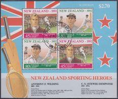 NUEVA ZELANDA 1992 Nº HB-85 USAD0 - Hojas Bloque