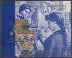 NUEVA ZELANDA 1993 Nº HB-86 USAD0 - Hojas Bloque