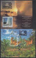 NUEVA ZELANDA 1993 Nº HB-91/92 USAD0 - Hojas Bloque