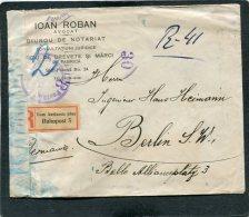 Deutsches Reich R Brief  Vom Auslande Uber Bahnpost 1922 - Deutschland