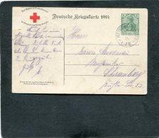 Deutsches Reich Postkarte 1914 P100AII - Deutschland