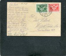 Deutsches Reich Postkarte 1925 Verkehrsaustellung - Germany