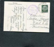 Deutsches Reich Postkarte 1937 KDF Auf Hoher See - Deutschland