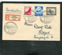 Deutsches Reich R Brief Luftpost 1. Berliner 1936 - Deutschland