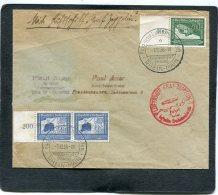 Deutsches Reich Brief Zeppelin 1938 Befreites Sudetenland - Deutschland