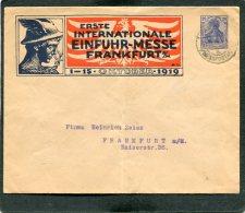 Deutsches Reich  Enveloppe Privat 1919 Frankfurtermesse - Privatpost