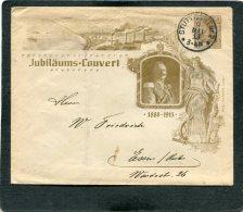 Deutsches Reich  Enveloppe Privat 1913 - Poste Privée
