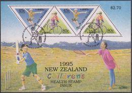 NUEVA ZELANDA 1995 Nº HB-100 USAD0 - Hojas Bloque