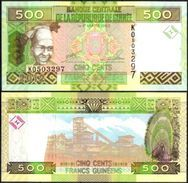 10 Pieces Guinea - 500 Francs 2012 UNC - Guinea