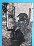 34 : SAINT-PONS : VALLEE Du JAUR , PONT Et VIEILLE PORTE  , C.P.M. , Carte En Bon état, - Saint-Pons-de-Thomières