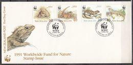 NUEVA ZELANDA 1991 Nº 1104/07 USAD0 - Nueva Zelanda