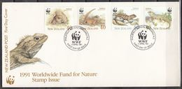 NUEVA ZELANDA 1991 Nº 1104/07 USAD0 - Used Stamps