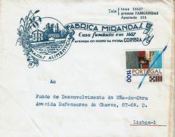 Coimbra , 1972 , FABRICA MIRANDAS , Massas Alimentícias , Food Pasta - Publicités